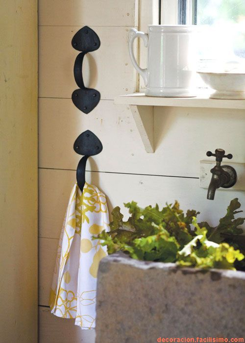 Door Pull Hand towel holder