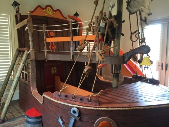 pirate ship bed kids