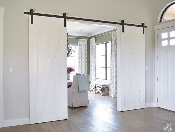Barn Doors Are Great For Separating Space Because They Have The Ability To  Slide All The Way Open And Open Up The Separated Spaces Again When Needed,  ...