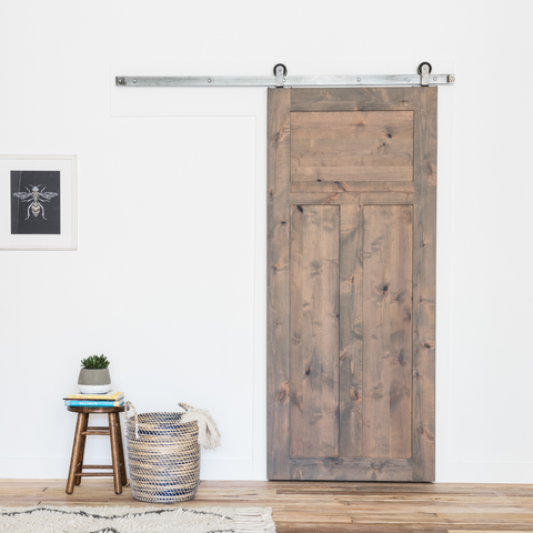 Craftsman 3-Panel Barn Door