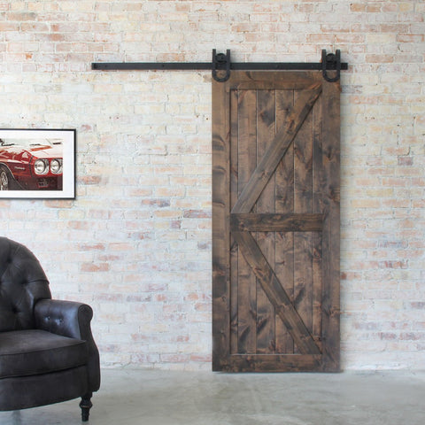 Artisan Brace Sliding Barn Door
