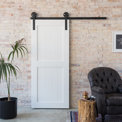 Classic 2-Panel Barn Door