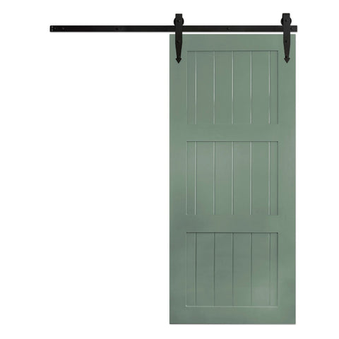 Classic 3-Panel Barn Door