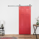 Modern Spoked Wheel Barn Door Hardware | Artisan Hardware