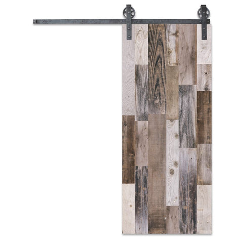 Vertical Reclaimed Barn Door