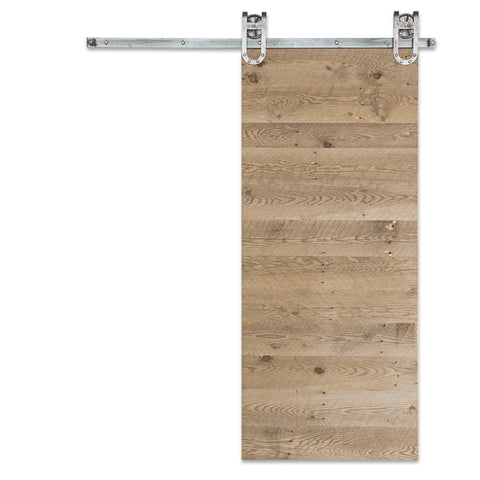 Weathered Panel Barn Door
