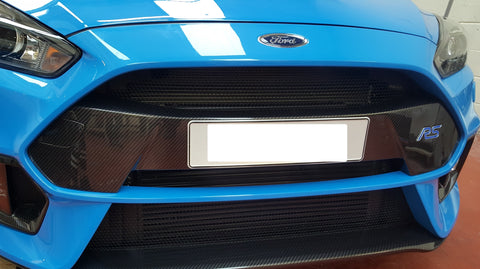 Carbon Number Plate Panel - Mk3.5 Ford Focus RS