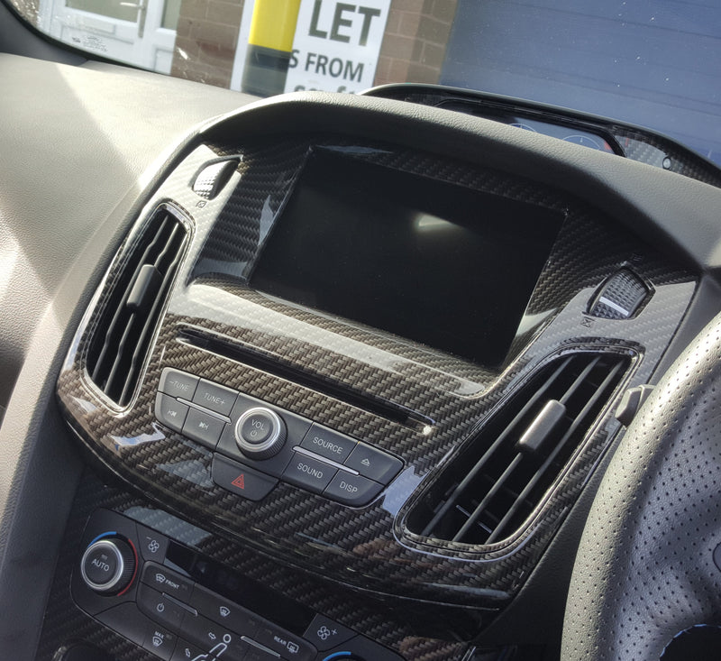 Centre Console Screen Surround - Mk3.5 Focus inc ST/RS