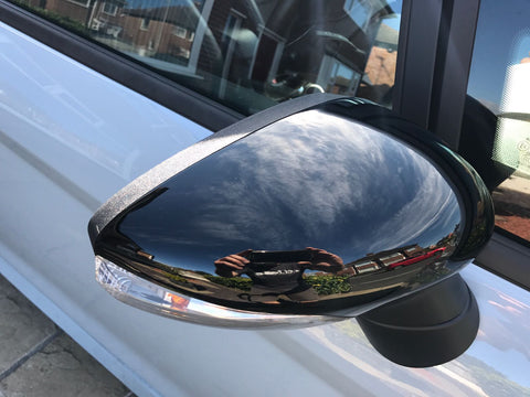 Ford Fiesta  MK7 Mirror Covers (Painted)