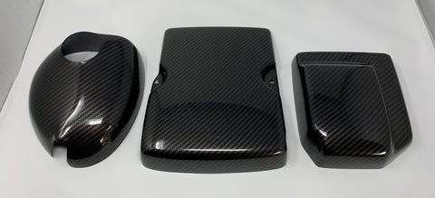 Mk8 Fiesta Engine Bay Dress Up Kit Carbon Fibre (Painted/ Hydrodipped)