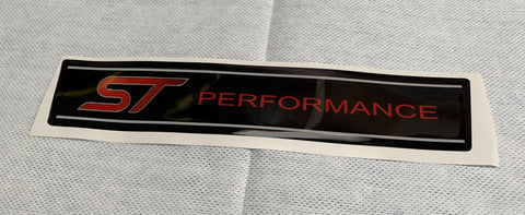 MK3/3.5 Focus ST Engine Cover Gel Badge