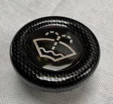 Proform Volkswagen, Audi, Seat, Skoda Washer Bottle Bung Black Plastic/ Carbon Fibre Effect Plastic