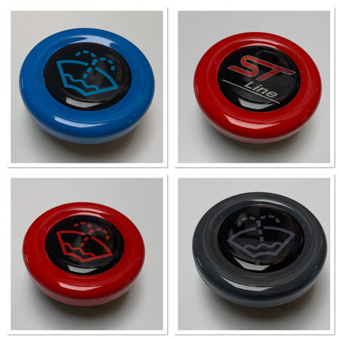 Washer Bottle Bung Painted/ Hydrodip ST-Line/ Washer Bottle Logo - MK8 Fiesta