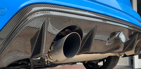 Rear Diffuser Carbon Fibre - Mk3.5 Ford Focus RS