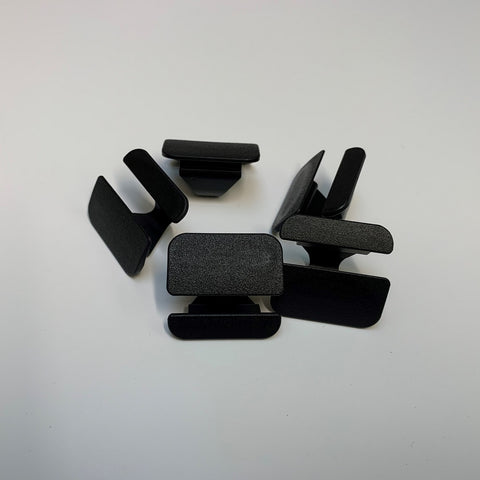 Ford Plastic Under Bonnet Pad Clips (Rectangular)