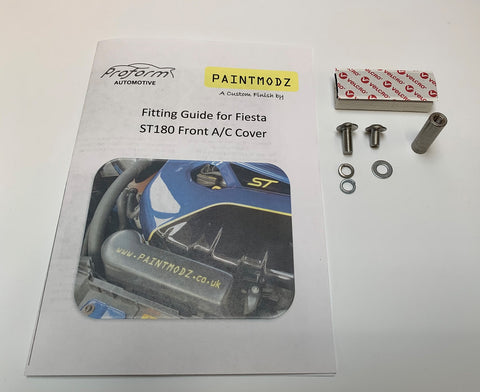 Front Aircon Cover Fitting Kit - Fiesta ST180