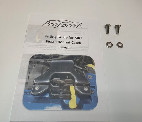 Bonnet Catch Cover Fitting Kit - Mk7.5 Fiesta