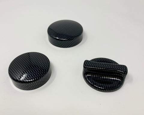 Mk2/3/4 Focus / Mk6/7/8 Fiesta, Petrol or Diesel Engine Cap Cover Kit Plastic