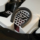 Focus RS Airbox Badge Plate Gloss Black