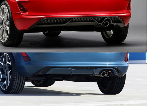 New Rear Diffuser Conversion - MK8 Fiesta ST-Line to ST