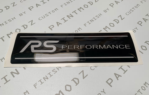 Engine Cover Gel Badge - MK3.5 Focus RS