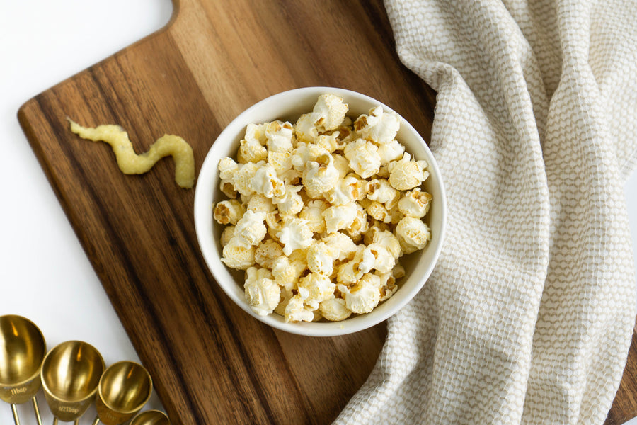 Immune-Strengthening Honey Ginger Kettle Corn Recipe