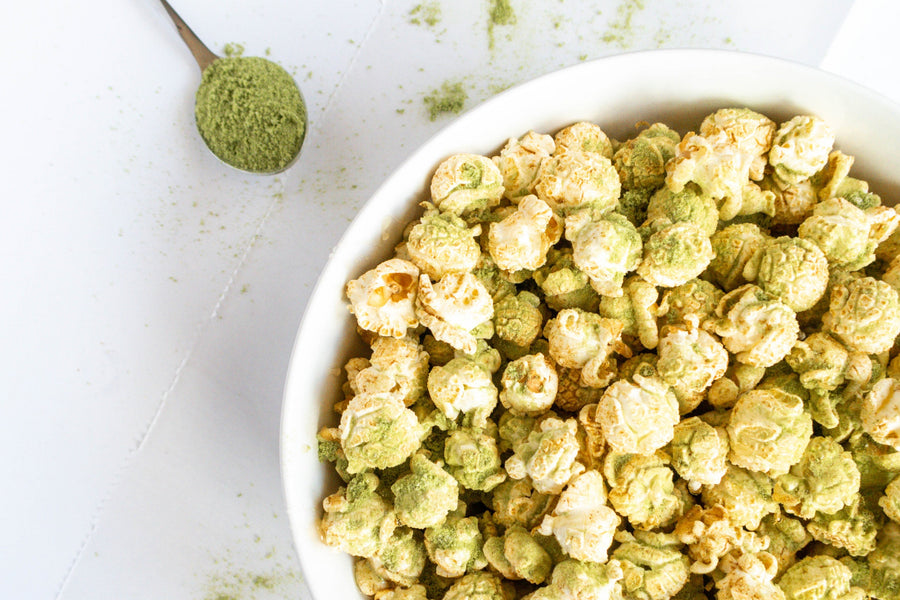 Oh-So-Delicious Matcha Latte Popcorn Recipe