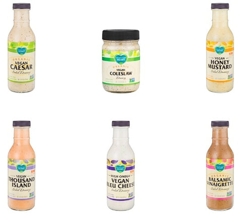 vegan dairy free condiments and sauces