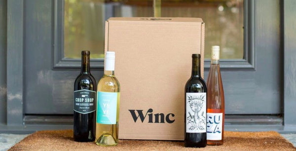 winc vegan wine subscription box