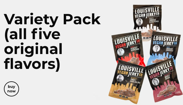 Louisville jerky vegan subscription box