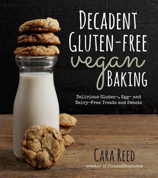 gluten free vegan baking recipe book cara reed