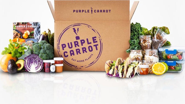 purple carrot vegan subscription box