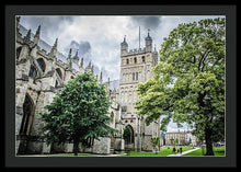 Load image into Gallery viewer, Exeter Cathedral - Framed Print - RW Jemmett