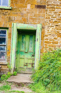 Cottage Door in Colour, Oxfordshire, C-Type - RW Jemmett