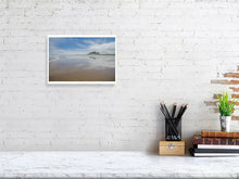 Load image into Gallery viewer, Bamburgh Castle and Beach - Northumberland, Landscape, C-Type - RW Jemmett