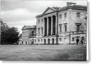 Basildon Park Mansion, Berkshire, England, Uk - Greeting Card - RW Jemmett