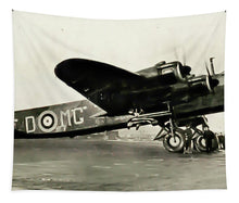 Load image into Gallery viewer, British Short Stirling Raf Heavy Bomber - Tapestry - RW Jemmett