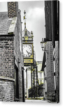 Load image into Gallery viewer, Chester City Clock, Chester, England. - Acrylic Print - RW Jemmett