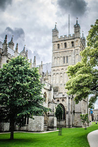Exeter Cathedral - Greeting Card
