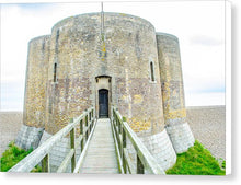 Load image into Gallery viewer, Martello Tower Aldeburgh Suffolk - Canvas Print - RW Jemmett