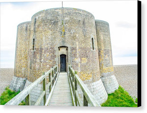 Martello Tower Aldeburgh Suffolk - Canvas Print - RW Jemmett