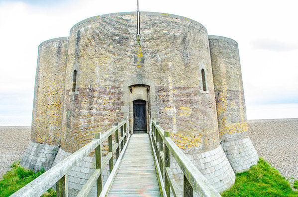 Martello Tower Aldeburgh Suffolk - Greeting Card