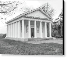 Load image into Gallery viewer, Painshill, Cobham, England, Greek Folley - Canvas Print - RW Jemmett