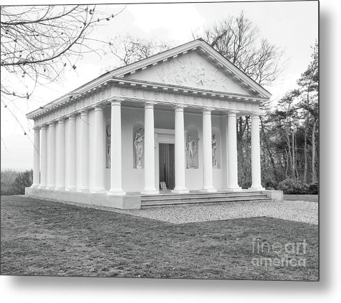Painshill, Cobham, England, Greek Folley - Metal Print