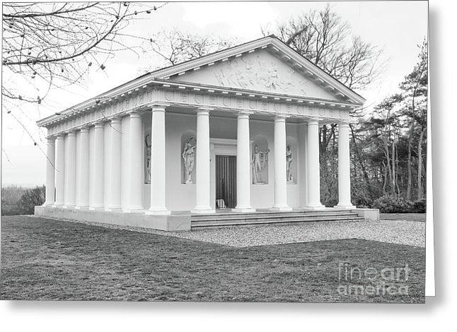 Painshill, Cobham, England, Greek Folley - Greeting Card - RW Jemmett