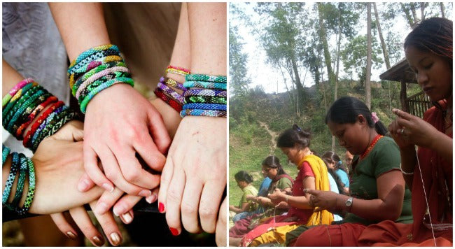 Nepal's Beaded Beauties