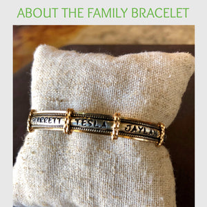About The Family Bracelet