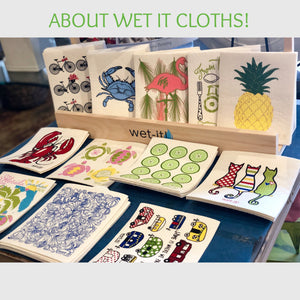 About Wet It Cloths