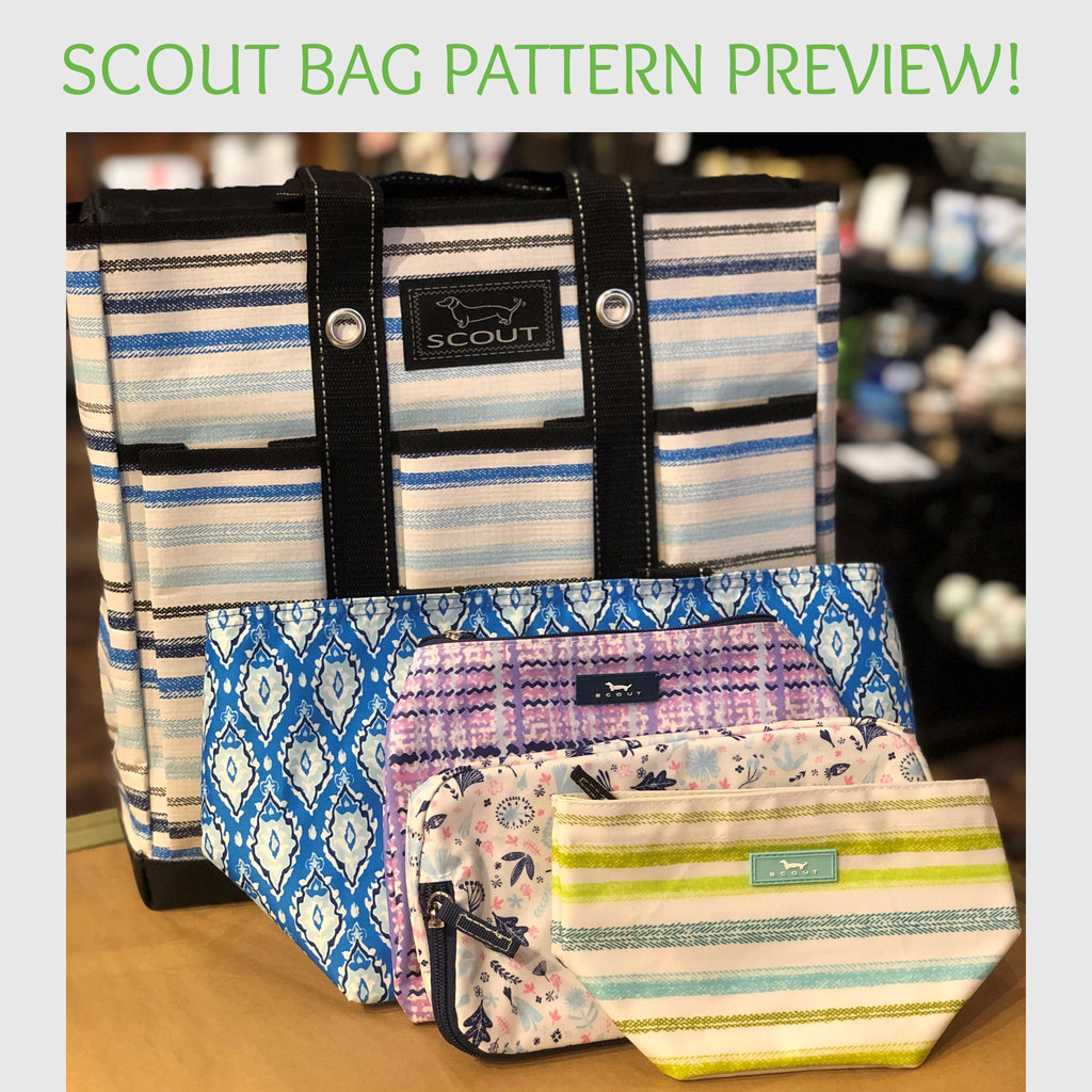 Scout Bag Pattern Preview!
