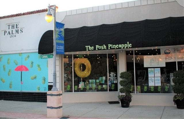 The Posh Pineapple New Smyrna Beach Florida